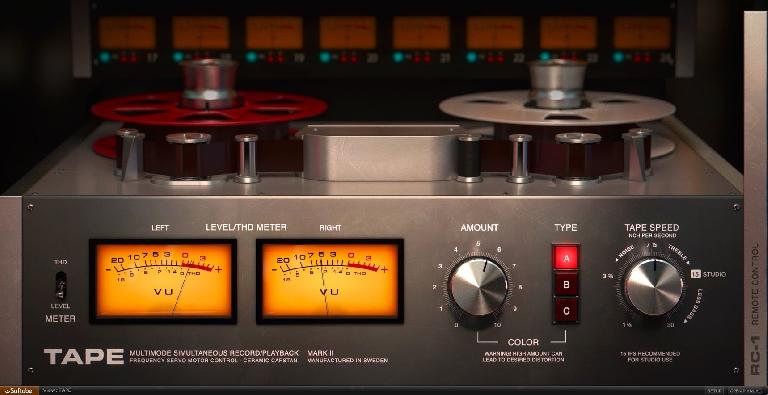 Softube Tape plug-in.