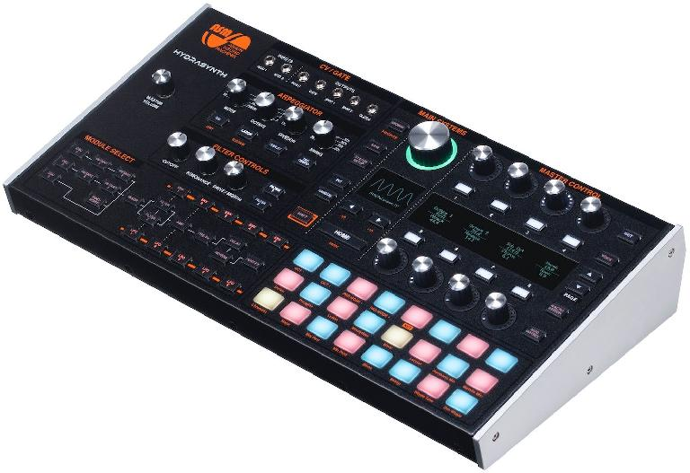 Ashun Sound Machines Hydrasynth desktop version.