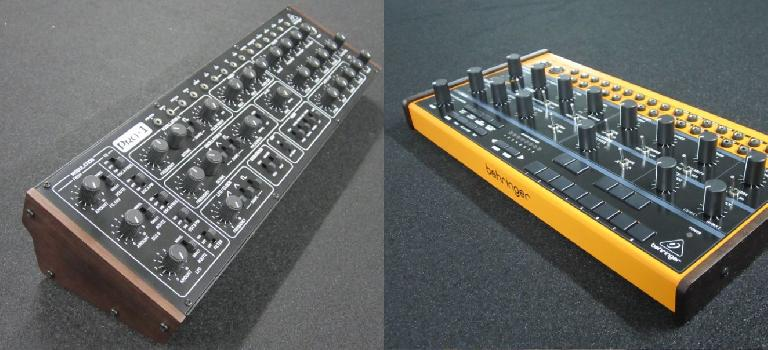 Behringer Pro-1 (L) and Crave (R)
