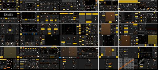 There's 42... yes, 42 new templates for Ableton Live that come with touchAble 3.