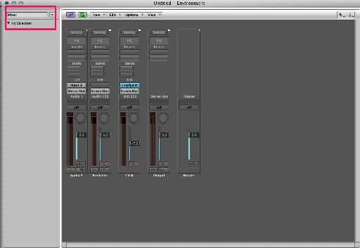 pic 2. create environment layer for these channel strips