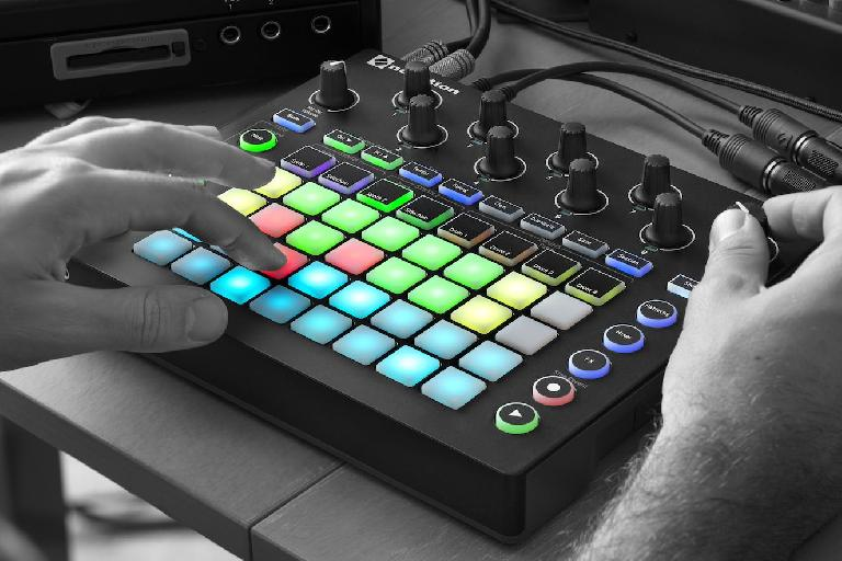Close up of the new Novation Circuit.