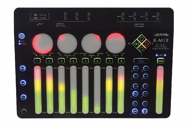 Keith McMillen Instruments K-Mix: mixer & audio interface