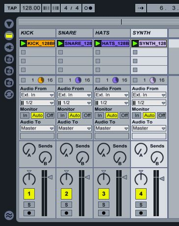 Ableton clips
