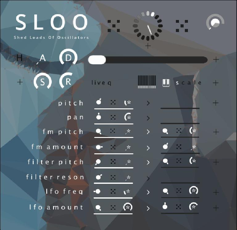 SLOO for Reaktor 6.1 GUI.