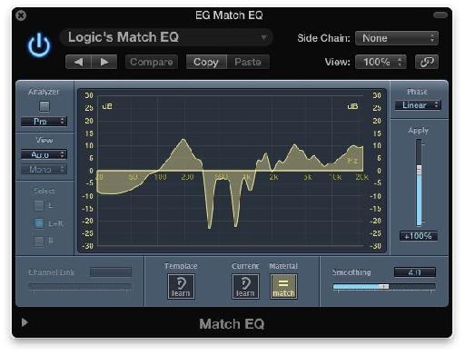 Fig. 3: Logic's Match EQ.