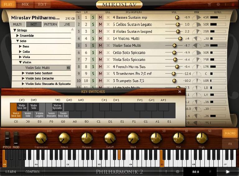 Miroslav Philharmonic 2 - articulations