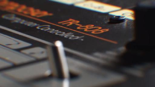 Roland TR-808 closeup