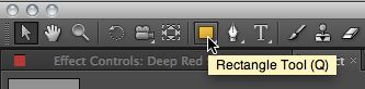 Double-click rectangle tool