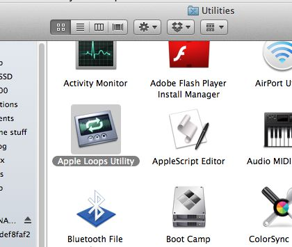 You'll find the Apple loop utility tucked away in your applications folder after a Logic Pro install.