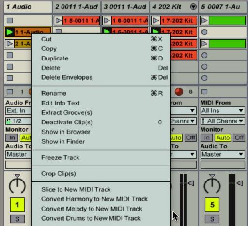 Harmony to MIDI