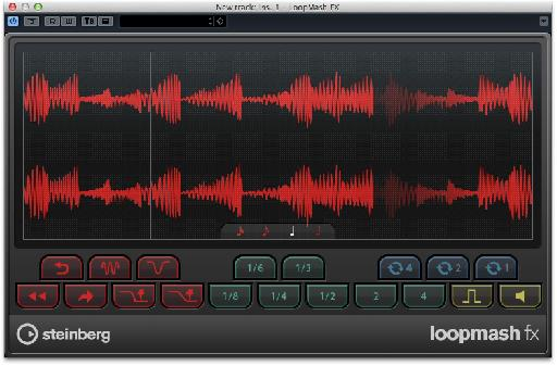You can reverse your audio in real time without missing a beat.