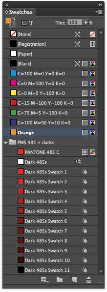 Color groups should make dealing with swatches a little easier