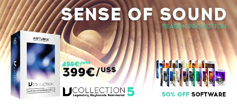 Arturia Sense of Sound Sale