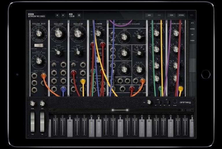 Moog Model 15 for iOS pic 3
