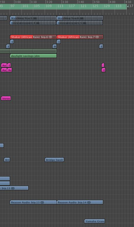 The drum outro is completed