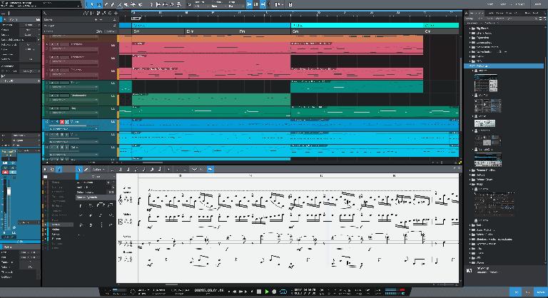 PreSonus Studio One 5 Score Editor