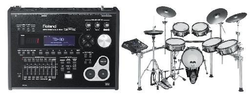 Fig 5 The TD-30 'brain' provides modeled drum sounds for Roland's top-of-the-line V-Drum kits.