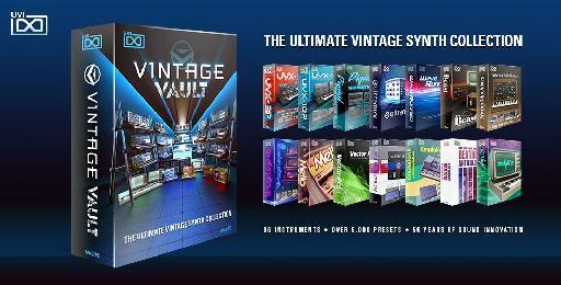 UVI Vintage Vault Bundle