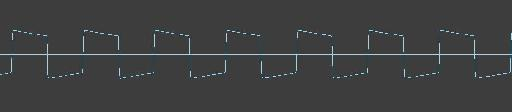 Square waveform from the MS-20:Legacy Plugin