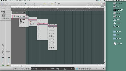 Pic 15. Select the Ext MIDI track while holding down 'Control'