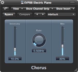 Chorus plug-in.