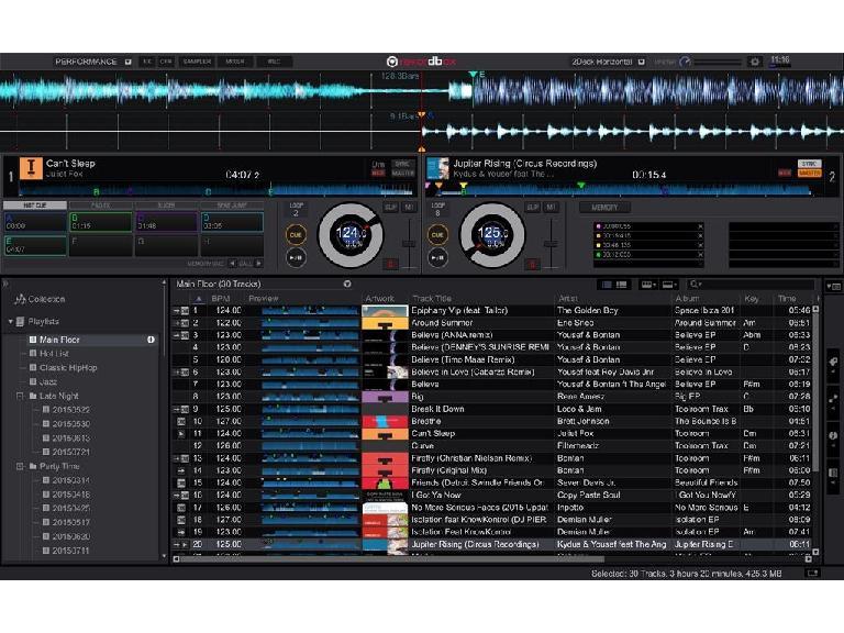 Rekordbox DJ GUI.