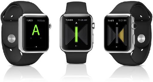 Tune your instruments from your wrist.