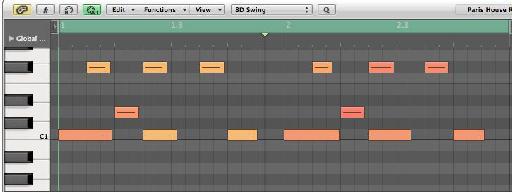 MIDI Pattern