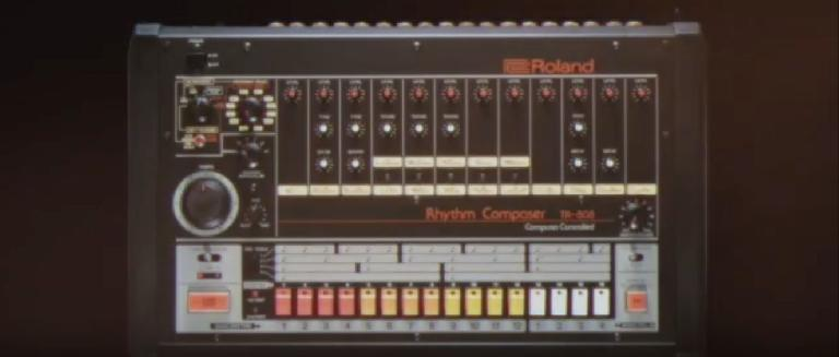 Roland TR-808 was released in 1980.