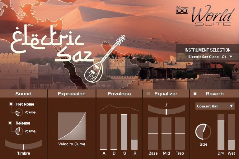 UVI World Suite 2 - Electric Saz