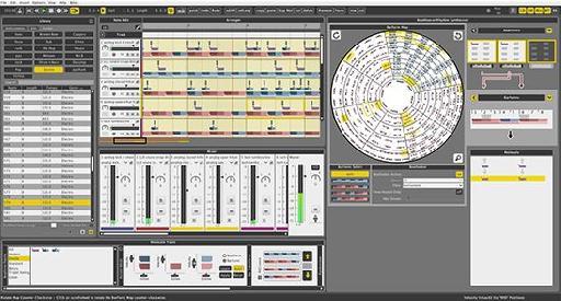 Liquid Rhythm interface.