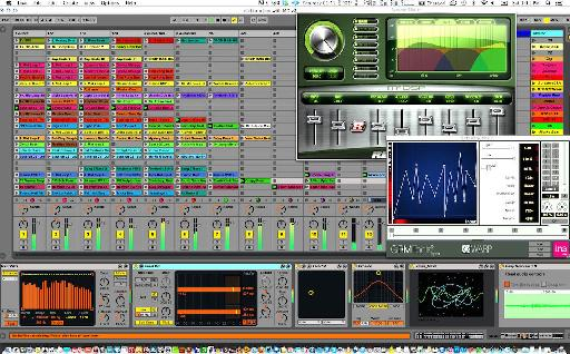 Ableton Live 9, one of the many DAWs Richard Devine uses.