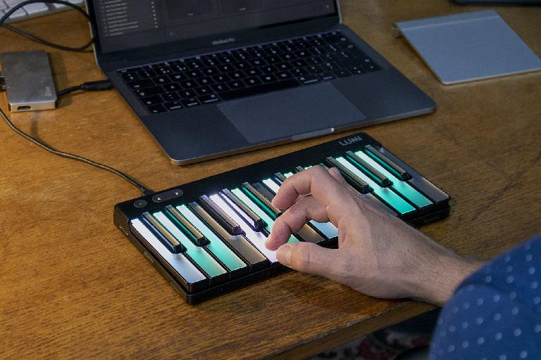 ROLI LUMI Studio edition pitchbend per note