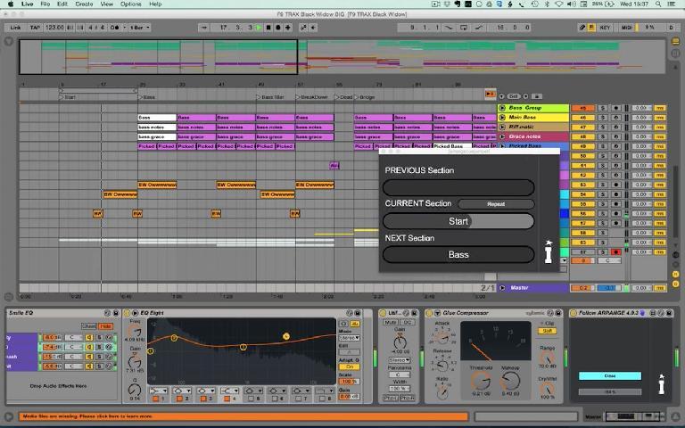 Isotonik Follow Arrange in Ableton Live