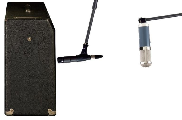 Fig 1 Combining a close mic with a more distant mic can provide better depth and air