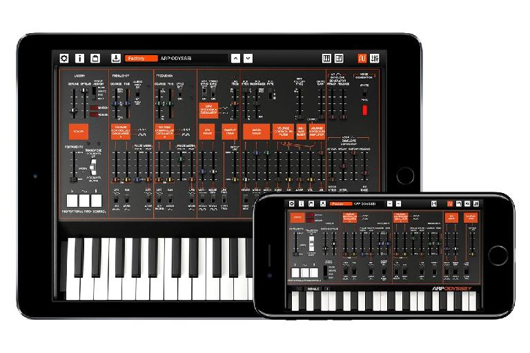 Korg Arp Odyssei for iOS