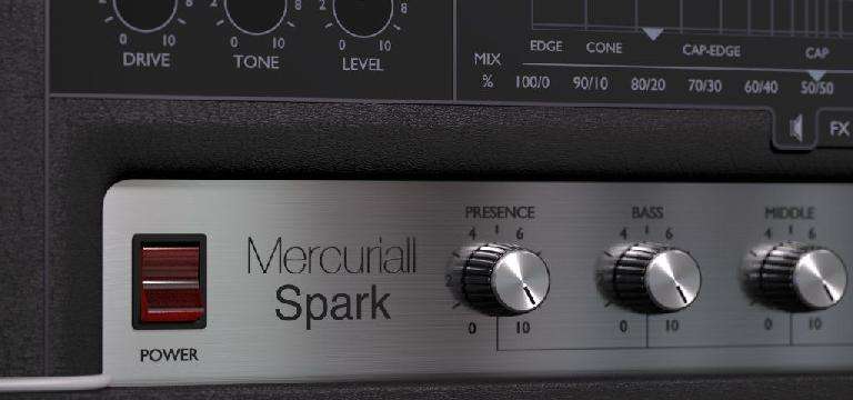 Mercurial Audio Software Spark