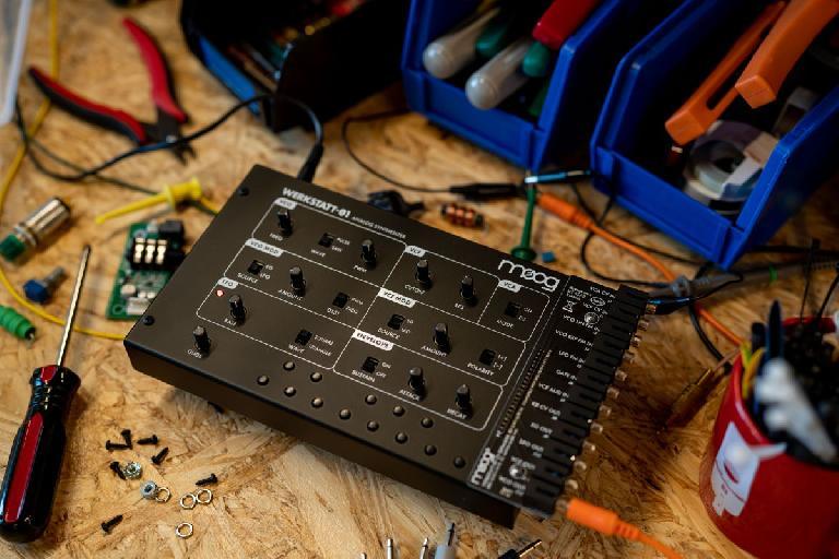 Moog Werkstatt 01 kit
