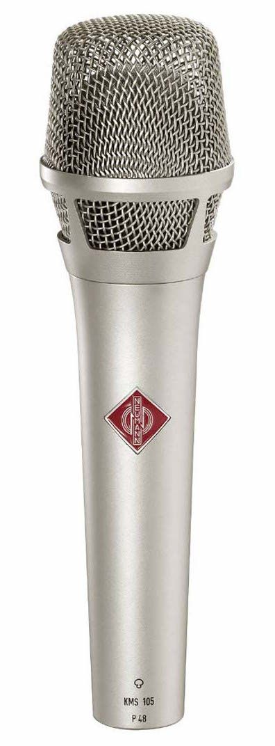 Fig 3 The Neumann KMS105 hand-held condenser for stage use—the new gold standard?