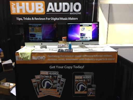 MPVHub Audio launch was a huge success! Thanks to everyone that stopped by the booth.