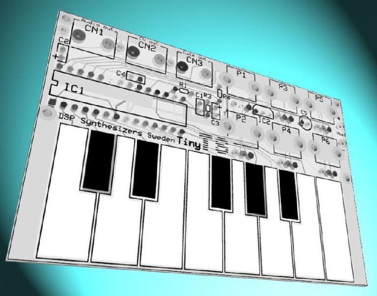 Tiny TS credit-card synthesizer