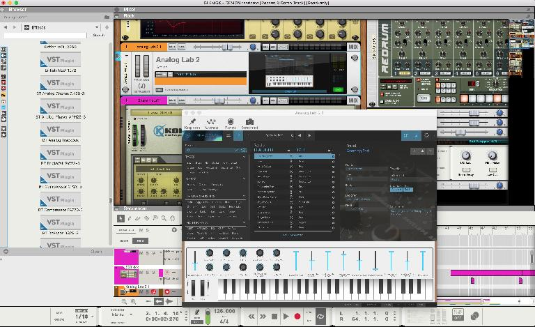 A VST running in Reason!