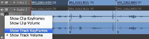 track volume