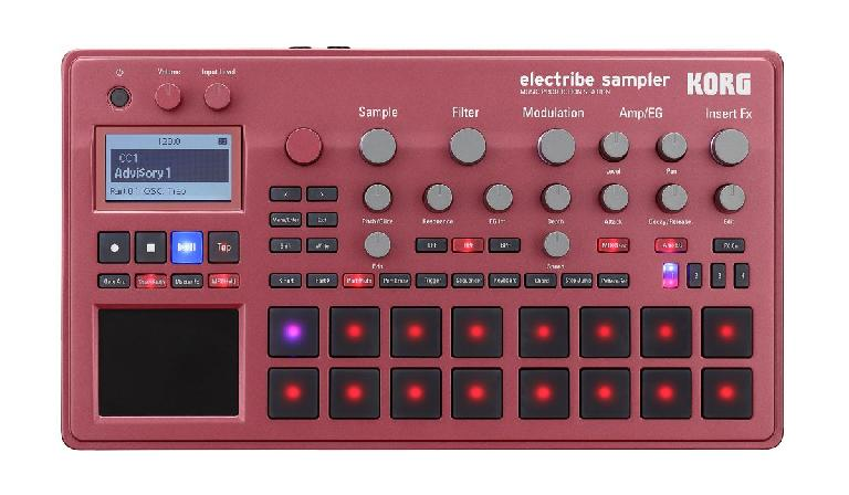 Korg Electribe Sampler 2. Click on image to zoom in.