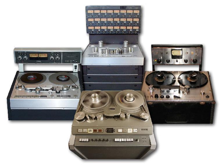 Classic analog tape machines
