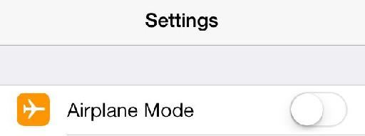 Switch to this before switching off.
