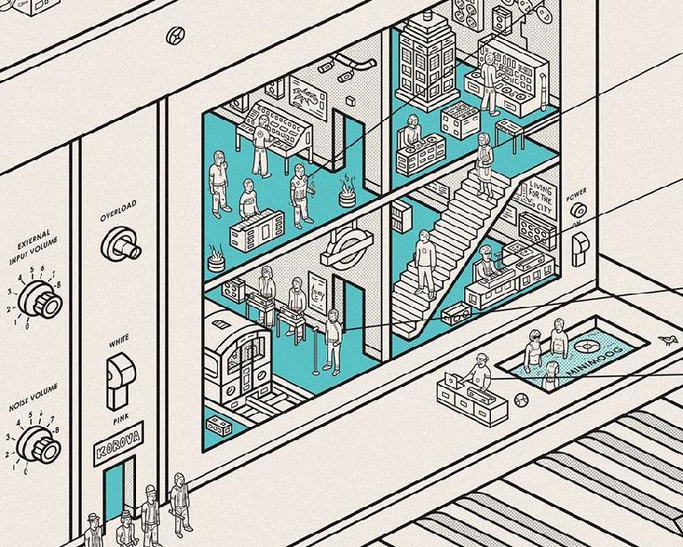 Dorothy Inside Information Minimoog close-up 1