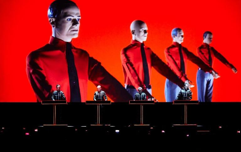 Remarkably, electronic pioneers Kraftwerk are performing nearby at the same time the exhibition is being held.