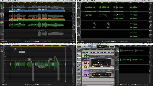 Fig 1 The various Processes & tools in Revoice Pro.